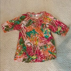 Love U Lots Tropical Cover-up size 5